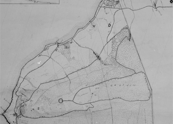 1906 Plan of Beinn Bhreagh, the Cape Breton Estate of Dr. A.G. Bell