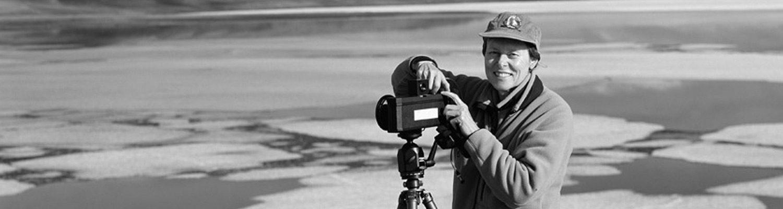 Roberta Bondar with her Camera